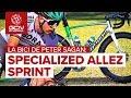 Bicicleta De Aluminio De Carrera De Peter Sagan   Specialized Allez Sprint Disc