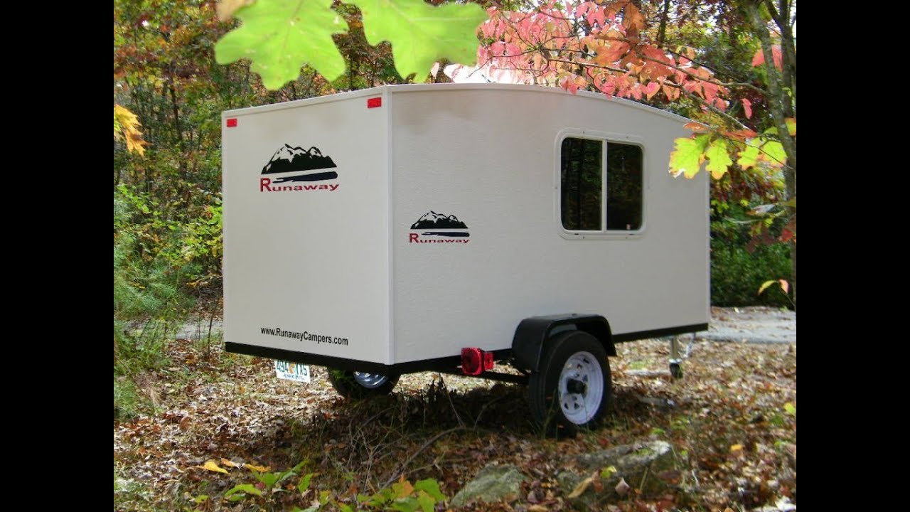 31 innovative harbor freight trailer camper plans fakrub awesome then he attached the rest of the frame with sleeping area and galley publicscrutiny Choice Image