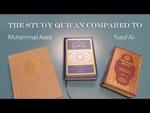 The Study Quran compared to other English Qurans
