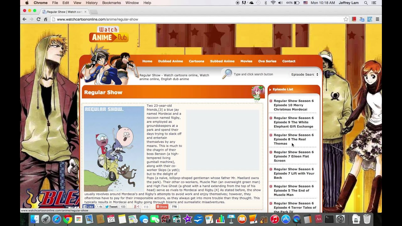 watch free cartoons online