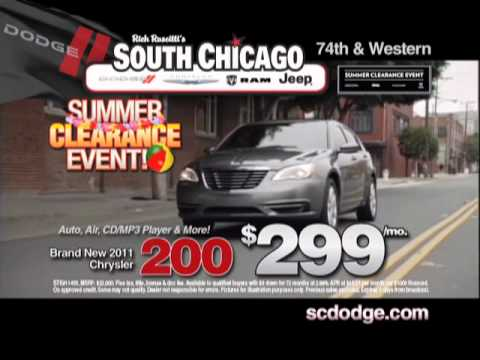 South Chicago Dodge Chrysler Jeep Summer Clearance Event