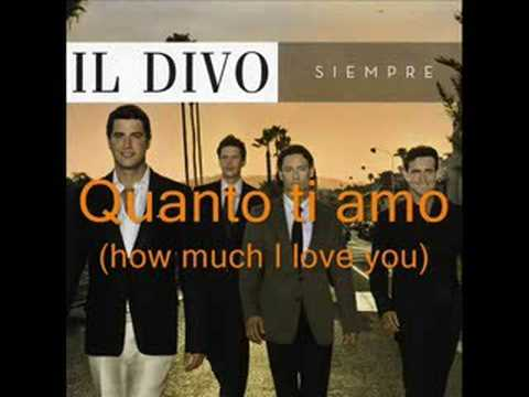 Il divo notte di luce nights in white satin italian - Il divo italian songs ...
