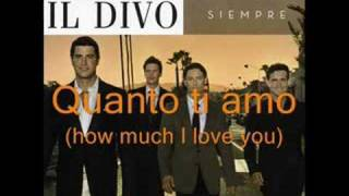 Video Nights In White Satin (Notte di luce) Il Divo