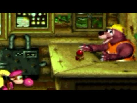Donkey Kong Country 3 105% Walkthrough Part 17: Barter Blast!