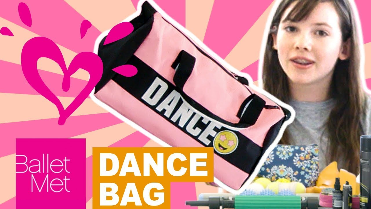 What S In My Dance Bag Justice