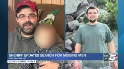 Sheriff provides update about search for missing men