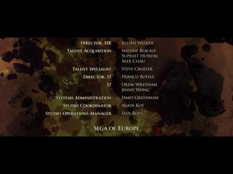 Dawn of War III credits