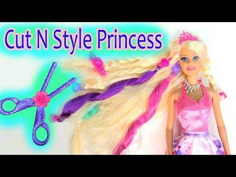 Barbie Cut N Style Princess Doll Hair Extensions Cutting Fun Play Review Cookieswirlc