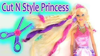 Barbie Cut N Style Princess Doll Hair Extensions Cutting Fun Play Review Cookieswirlc
