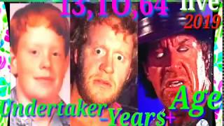 WWE 13 ,TO, 64 THE UNDERTAKER YEARS + AGE