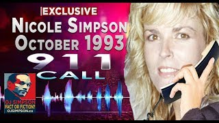 Nicole Brown Simpson 911 Calls. Complete, Uncensored, Never Before Heard. ♦ OJSimpson.co Exclusive