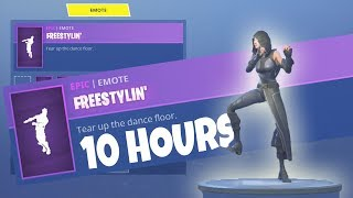 FORTNITE *New* FATE Skin FREESTYLIN emote 10 Hours