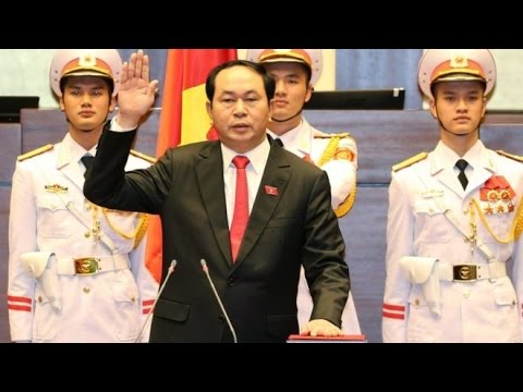 Vietnam police chief Tran Dai Quang sworn in as president