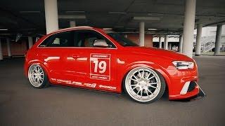 видео: Audi RSQ3 - Пушкагонка.