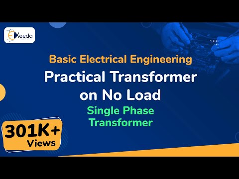 Transformer on No Load in single Phase Transformer