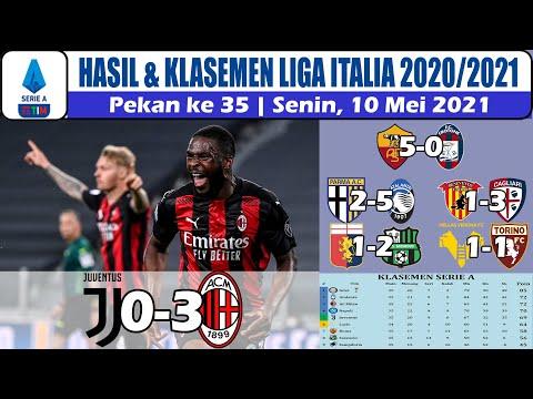 Hasil Liga Italia Tadi Malam ~ Juventus Vs AC Milan Serie A Klasemen Pekan 35 2021