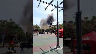 Rita mall Tegal kebakaran ( Tegal keras bro  ...ora kebakaran ora rame)