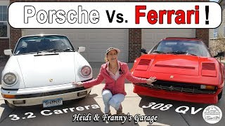 Ferrari Vs Porsche Classic! How are they Different? (With Driving)