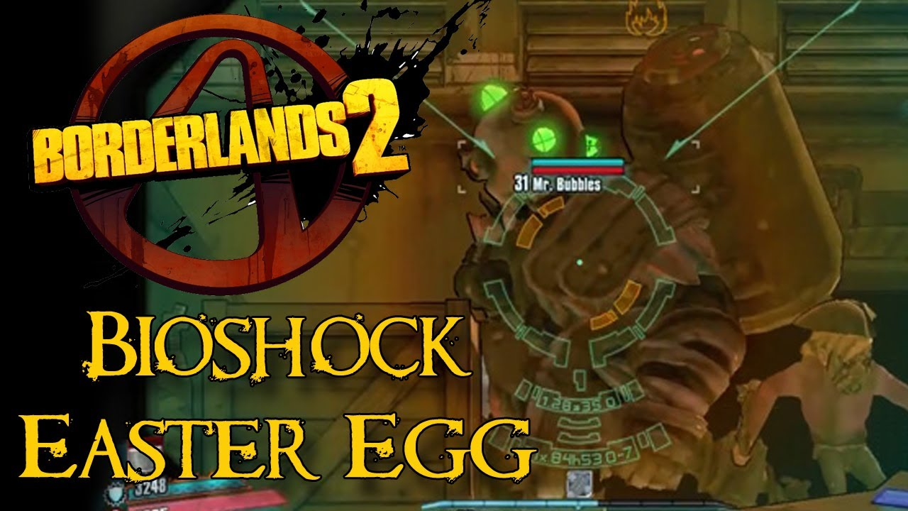Borderlands 2 - Easter Eggs - How to Find Bioshock Easter Egg ...