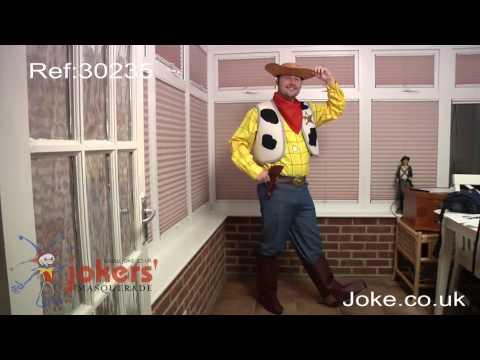 Toy Story Woody Costume: JMTV July 2010 Fancy Dress