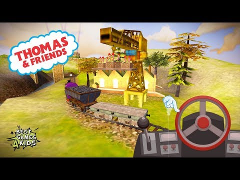 Transport party fireworks to the castle!   Thomas & Friends: Express Delivery By Budge Studios