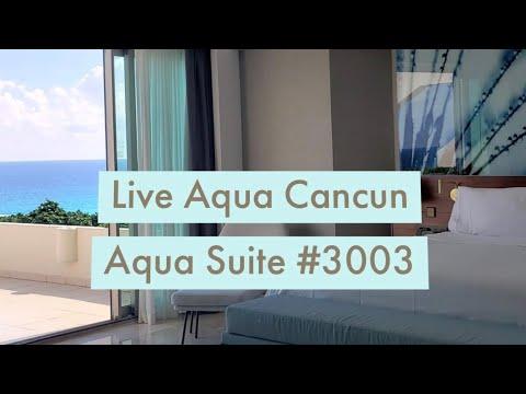 Live Aqua Cancun - Aqua Suite - Room Tour
