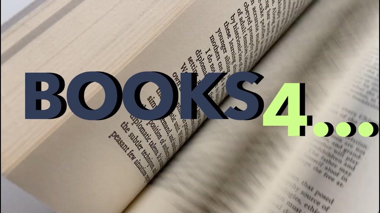 BOOKS4... | 4 Libros 4 Investigador@s 1 Tema