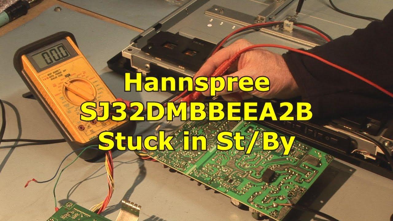 Hannspree HSG1116 Stuck in St/by SJ32DMBBEEA2B on