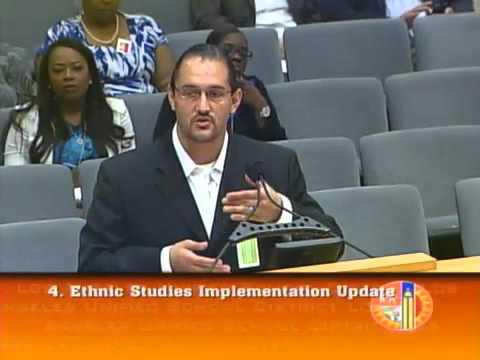 Dr. Nolan Cabrera's Ethnic Studies presentation to LAUSD