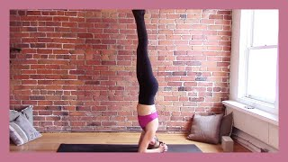 Video Yoga Arm Balances, Inversions & Standing Poses - Slow Flow Yoga {60 min} download MP3, 3GP, MP4, WEBM, AVI, FLV Maret 2018
