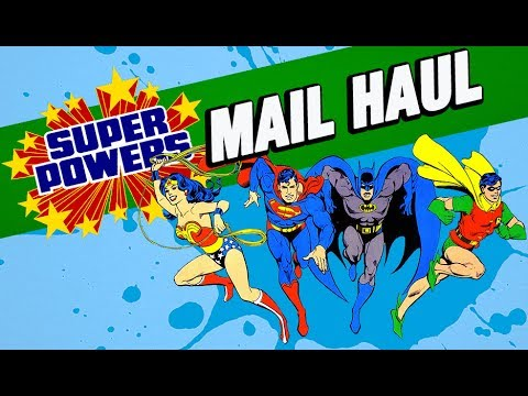 Getting Super Powers In The Mail!
