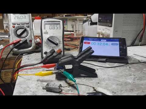 Supercapacitor - update test 2