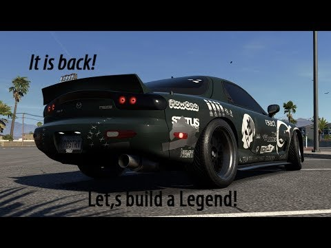 Need For Speed-Payback #01 The Mazda Rx-7, Pro Street Build