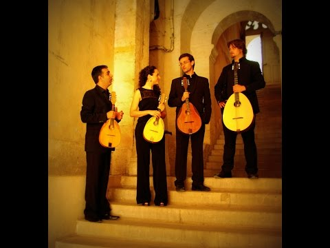 The Kerman Mandolin Quartet -  masterclasses in Israel - J.S.Bach Air
