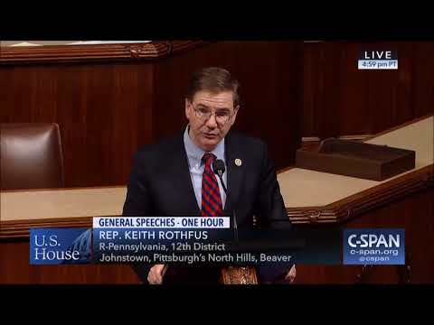 Rep. Keith Rothfus (R-PA) on the 45th Anniversary of Roe v Wade