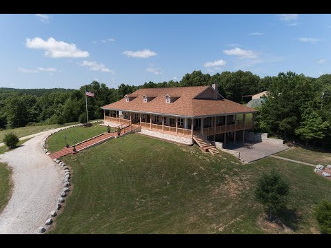 Missouri Luxury Home With Acreage For Sale – Dent County
