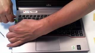 Видалити клавіатури Фуджитсу E734