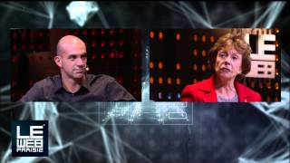 Neelie Kroes is interviewed by Loic Le Meur at LeWeb Paris 2012