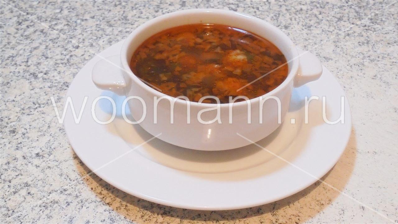Рецепты супов турецкой кухни суп с фрикадельками и ...