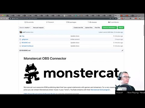 Creating an OBS Connector for Monstercat.com thumbnail