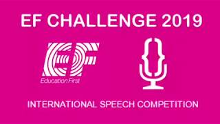 """""""What are your hopes for the future of our society?""""  Sara G. Ferreira [EF Challenge 2019]"""