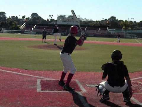 RBV's Austin Guzzon, LHP, pitching Jan. 23, 2011x.wmv (video by Susan Schag)