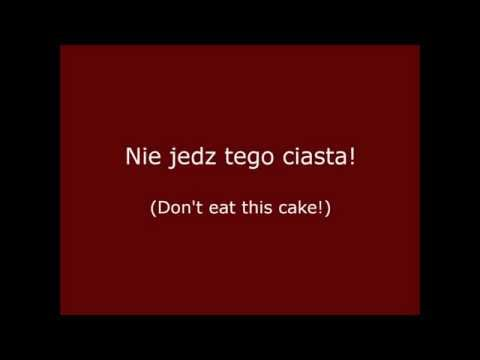 Polish Lesson #1: 2000 most common words 1-5