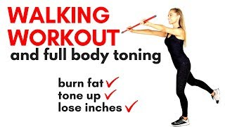 AT HOME WALKING WORKOUT - ideal as a Beginners Workout and for weight loss and full body toning.