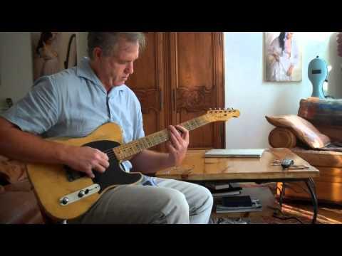 1953 Vintage Fender Esquire | Telecaster Guitar Video 2 played by Mark Lovett  marklovett.com