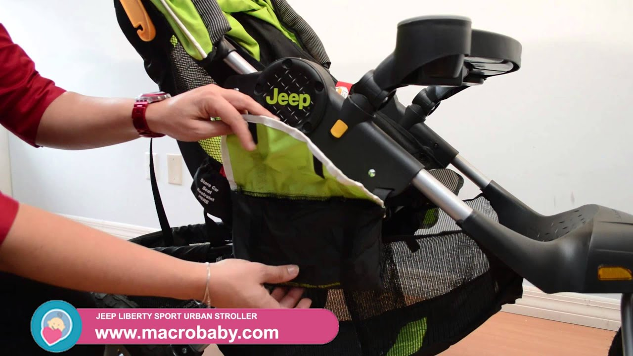 macrobaby - jeep liberty sport urban stroller - youtube