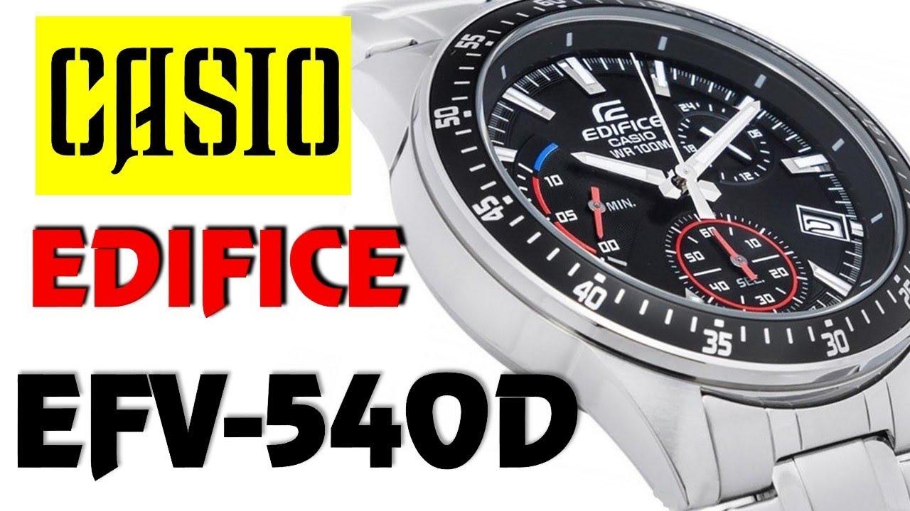 Casio Edifice Efv C100d 2avef Youtube