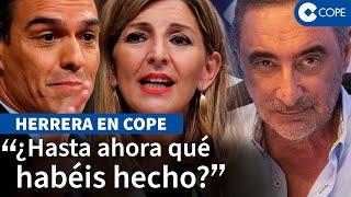 """Herrera desmiente a Yolanda Díaz: """"¿Cómo qué la legislatura empieza ahora?"""""""