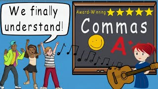 Comma Song Comma Usage and Comma Rules (New) GrammarSongs by Melissa