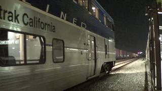 Very Late A583 & A758 Pacific Surfliner arrival & departure at Fullerton station part 2 2017-09-02